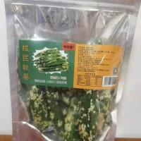 味达蕾牌拔丝秋葵78克透明袋装甜蔬菜脆琉璃制品零食小吃