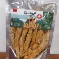 味达蕾牌拔丝地瓜158克透明袋装地瓜干网红薯条零食